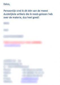 review tekstschrijver friesland